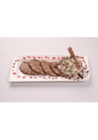 4. Salami de chocolate